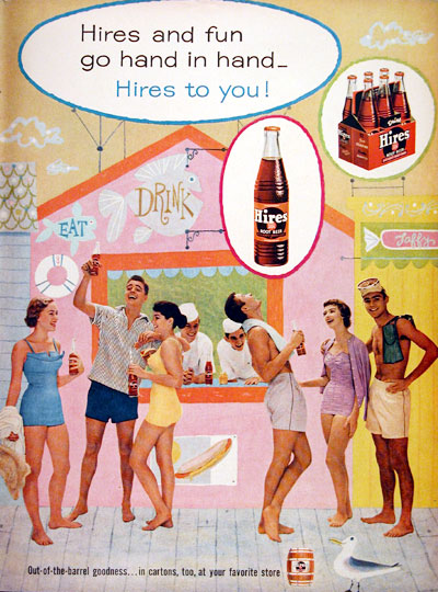 1956 Hires Root Beer #006701