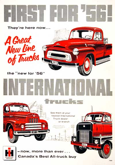 1956 International Trucks