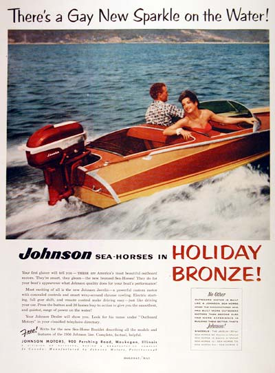 1956 Johnson Outboard #002837