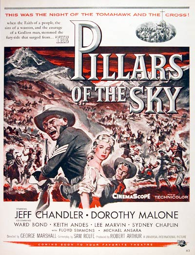 1956 Universal's Pillars of the Sky #004423