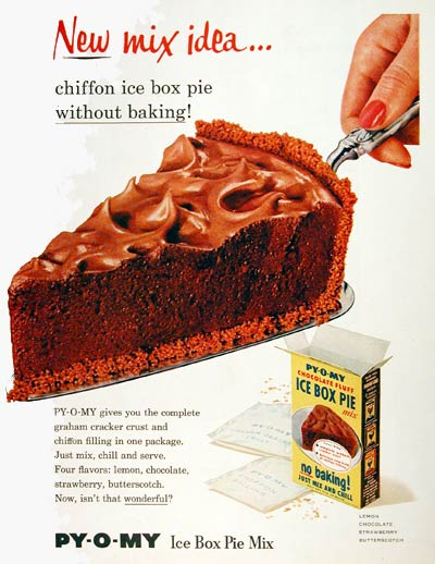 1956 Py-O-My Pie Mix #004419