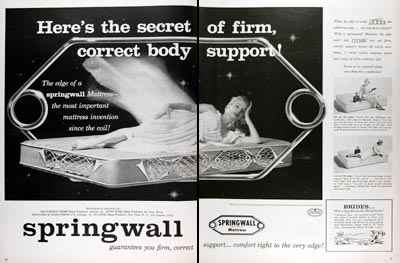 1956 Springwall Mattress #009379