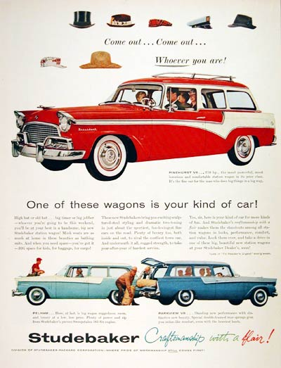 1956 Studebaker Station Wagons #004436