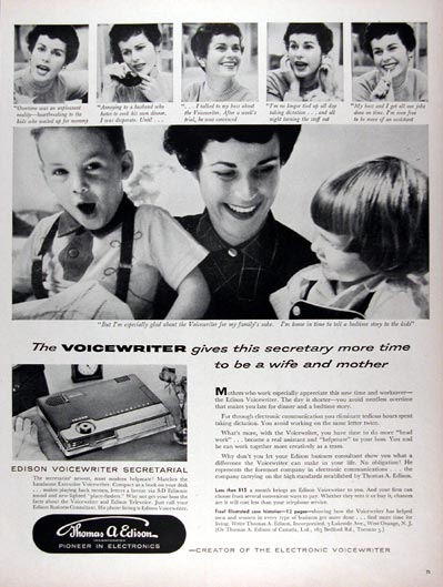 1956 Edison Voicewriter #024695