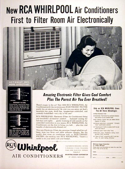 1956 Whirlpool Air Conditioner #007553