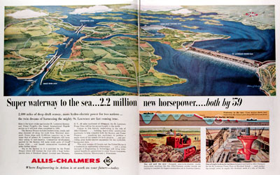 1957 Aliss Chalmers St Lawrence Seaway #014641
