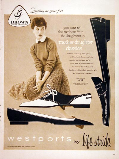 1957 Westports Shoes #006769