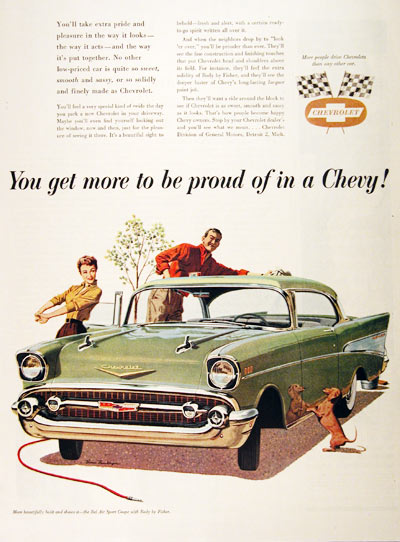 1957 Chevrolet Bel Air #001494