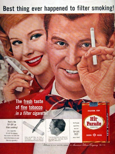 1957 Hit Parade Cigarettes #006774