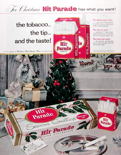 1957 Hit Parade Cigarettes #014644