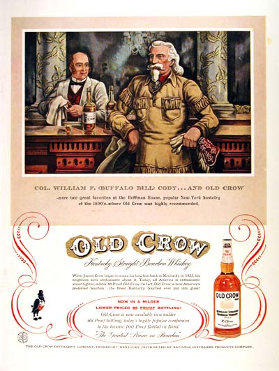 1957 Old Crow Whiskey  #002332
