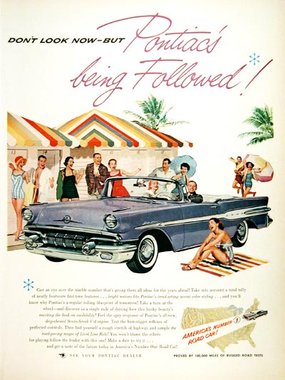 1957 Pontiac Star Chief Convertible #006874