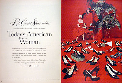 1957 Red Cross Shoes #007079