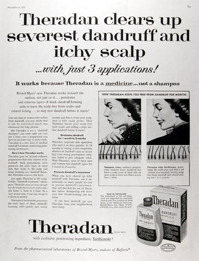 1957 Theradan Anti-Dandruff #014825