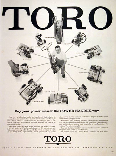 1957 Toro Power Products #006883