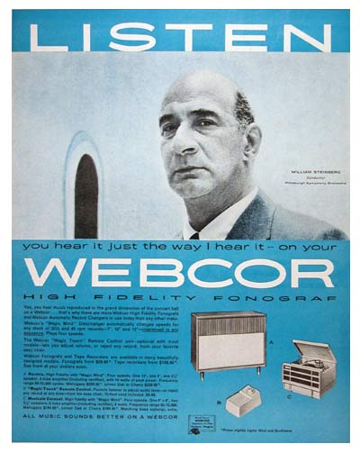 1957 Webcor Phonograph #007207