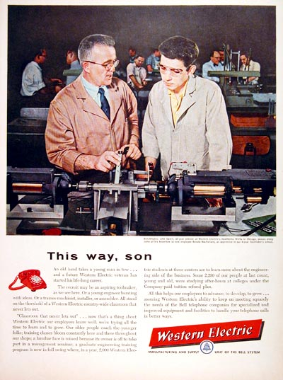 1957 Western Electric #006744