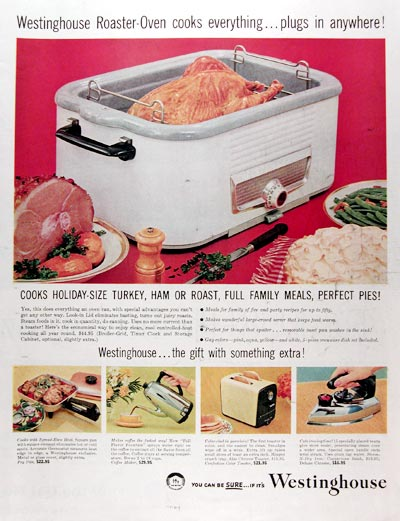 1957 Westinghouse Roaster Oven #014700