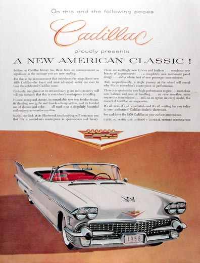 1958 Cadillac Series 62 Convertible #014710