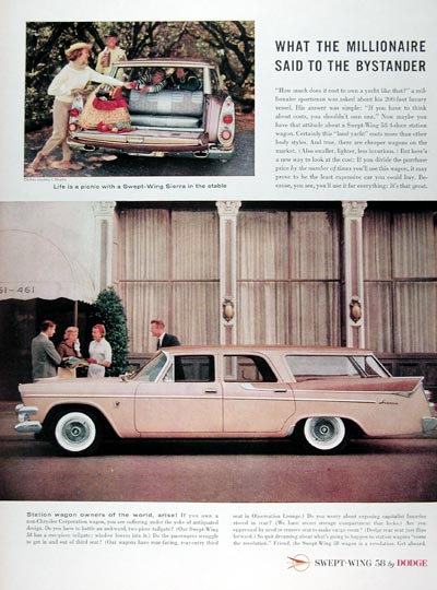 1958 Dodge Sierra Station Wagon #024831
