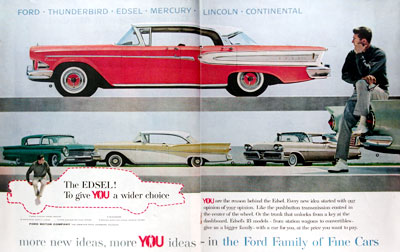 1958 Ford Edsel Debut #014645