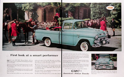 1958 GMC Pickup Trucks #014717