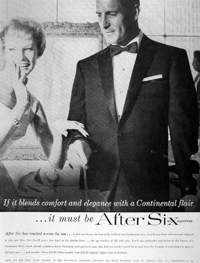 Tuxedo Advertisement