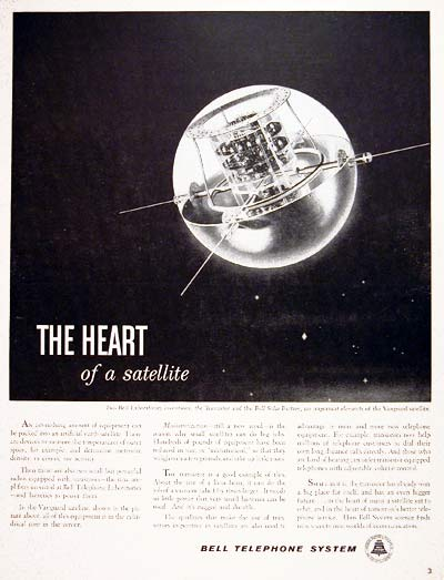 1959 Bell Labs Satellite #004013