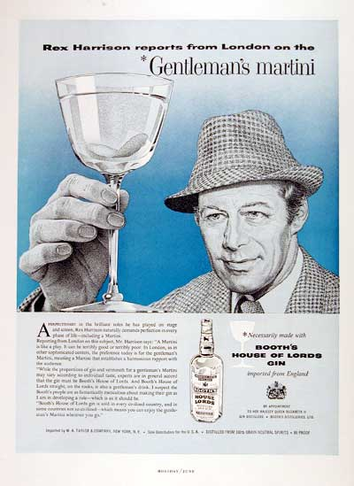 1959 Booth's Gin #002866