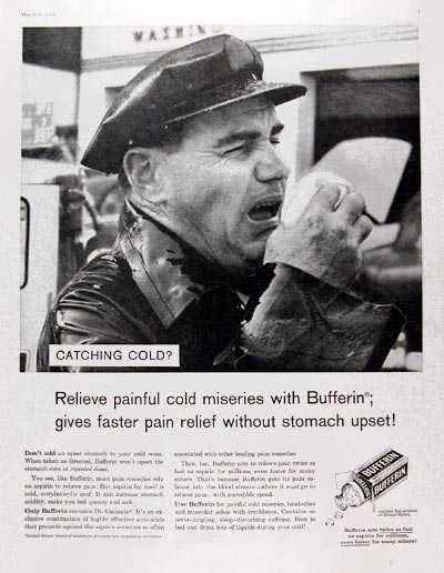 1959 Bufferin Analgesic #024851