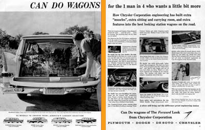 1959 Chrysler Wagon Line #000833