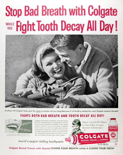 1959 Colgate Toothpaste #017467