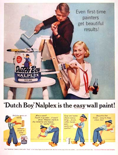 1959 Dutch Boy #003412