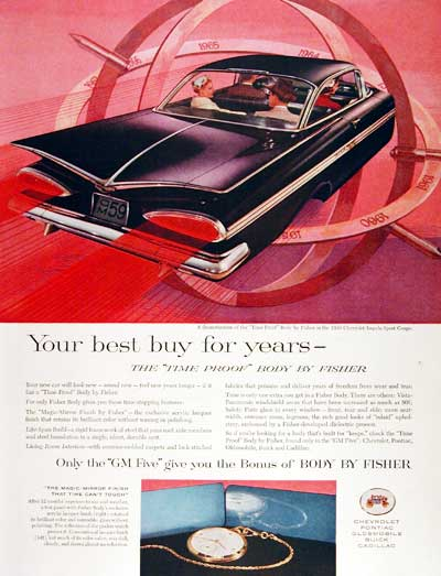 1959 Fisher Body #003413