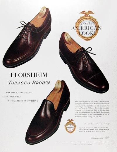 1959 Florsheim Shoes #018795