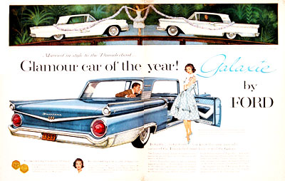1959 Ford Fairlane Galaxie 500 #004007