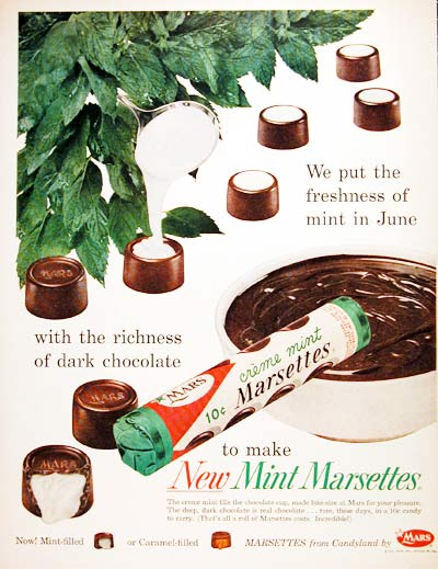 1959 Mars Chocolate Mints #004006