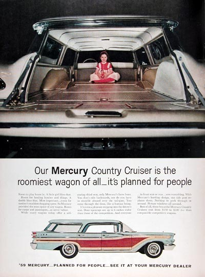 1959 Mercury Cruiser Station Wagon #009408