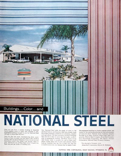 1959 National Steel Buildings #018809