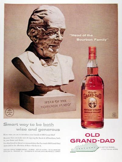 1959 Old Grand Dad Whiskey #009427