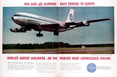 1959 Pan Am Jet Clippers #024857