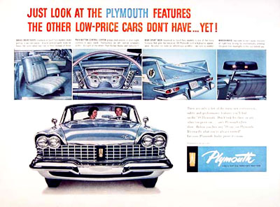 1959 Plymouth Sport Fury #000808