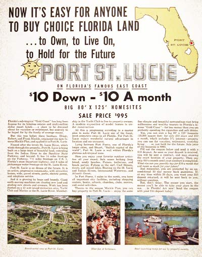 1959 Port St. Lucie FLA #004016