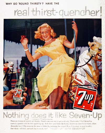 1959 Seven Up #003430