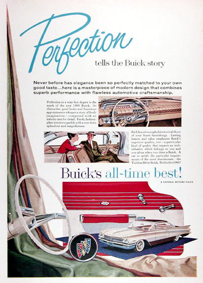 1960 Buick Coupe Vintage Ad #025335