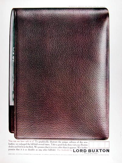 1960 Buxton Softfold Wallet #015372