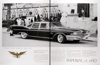 1960 Chrysler Imperial LeBaron Sedan #017698