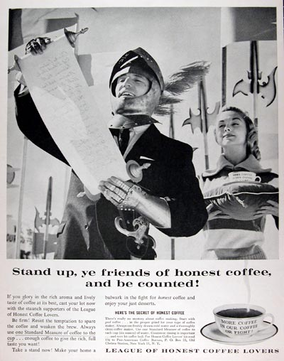 1960 League of Coffee Lovers #015386