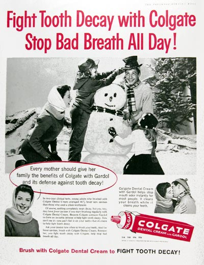 1960 Colgate Toothpaste #017701