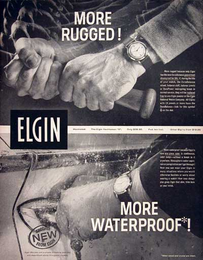 1960 Elgin Watches #004298